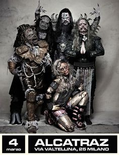 Lordi, more Finn rock! They have some wicked songs Music Clips, Music Bands, Lordi Band, Hard Rock, Heavy Metal, Soundtrack, Dark And Twisty, Band Photography, Black Angels