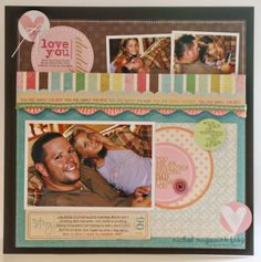 This is one of my favorite all-time layouts by Nichol Magouirk made with the Dad Rocks stamp set from TechniqueTuesday.com.