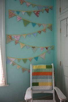 Love this bunting display! by effie