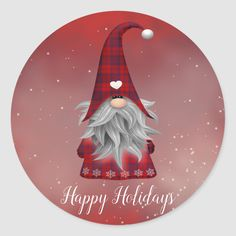 Christmas Gnome, Christmas Elf, Christmas Ornaments, Christmas Crafts, Christmas Gift Wrapping, Christmas Card Holders, Personalized Buttons, Craft Show Ideas, Christmas Stickers