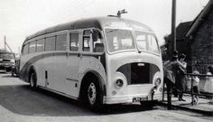 Believed to be a Plaxton bodied Leyland PS2 of Durbin's Coaches,