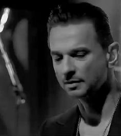 Dave Gahan from DEPECHE MODE.