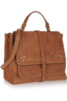 perfect brown satchel  #currentlyobsessed