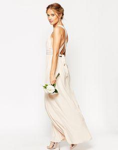 Bild 1 von ASOS – WEDDING – Maxikleid mit gerüschtem Doppelträger