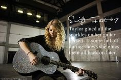 Swift fact. THAT IS THE GREATEST THING I HAVE EVER HEARD. NOW I WANT TO DO THAT.