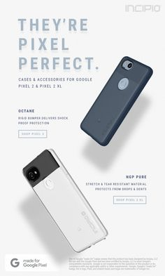 Cases available for Google Pixel 2 & Google Pixel 2 XL
