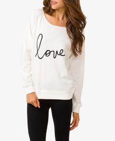 Love PJ Pullover | FOREVER21 - 2030187668