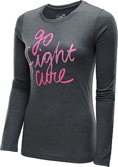 A great fit with HeatGear technical material plus a powerful message from Under Armour's Power In Pink breast cancer awareness collection.