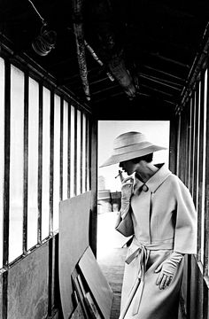 Jeanloup Sieff: Fashion photo, 1961