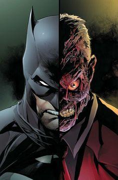 Do you guys think we'll see Two Face on screen again any time soon? 💀 Art b Dc Comics Characters, Dc Comics Art, Marvel Dc Comics, Fictional Characters, Batman Dark, Batman The Dark Knight, Batman Batman, Comic Movies, Comic Books