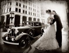 We love this!!! Is a 20's themed wedding in our future?