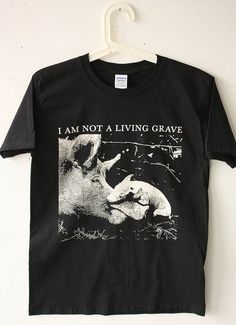 White ink on black shirt. Consider someone else; stop consuming animals. A portion of all proceeds goes to animal rights charities. Vegan Looks, Vegan Clothing, Vegan Animals, Tee Shirt Designs, Vegan Lifestyle, Animal Rights, White Ink, Vintage Shirts, Tee Shirts