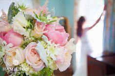 This dramatic bouquet shot from Amy's #junewedding is a stunner!  We love the #mintgreen and #pinktones of her #weddingbouquet.    #annapoliswedding #baltimorewedding #hamiltonphoto #hamiltonphotography #mdphotographer #marylandwedding