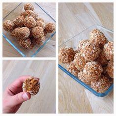 frk. sveske: sund snack | gulerodskugler