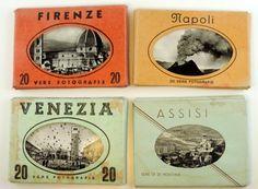 Vintage Italian Souvenir Photo Sets Of by SouvenirsdeVoyages