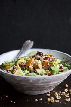 Millet & Pumpkin Winter Salad -Green Kitchen Stories