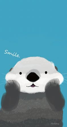 Otter iPhone background