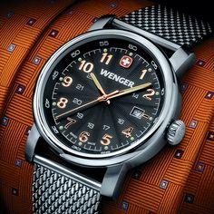 Wenger Zurich Timepiece - Stainless Case w/Bracelet Strap $195.00