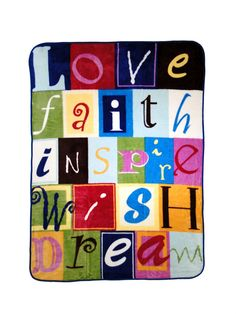 Throw - Love, Faith, Inspire Blanket