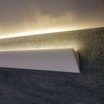 Light for walls & ceilings Professional skirting . Light for walls & ceilings Professional skirting … Indirect Lighting, Strip Lighting, Bedside Lamps Hanging, Diy Wand, Ceiling Light Design, Lighting Online, Led Ceiling, Bedroom Lighting, Light Shades