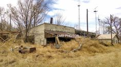 Abandoned town of Aroya in eastern CO