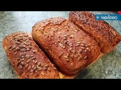 Najlepszy chleb na świecie! - YouTube Kfc, Banana Bread, Healthy Recipes, Healthy Food, Baking, Desserts, Youtube, Baked Goods, Bread Baking