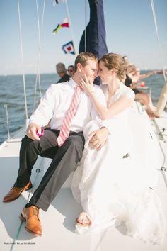 Nautical Themed Wedding at Annapolis Yacht Club - Pinterestdreams.blogspot.com Photo Credit:  We are the Mitchells
