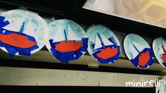 Today we made these cute little sailboat scenes. Super simple for very young kids! You may need: Paper plates Sky blue tissue paper Dark blue tissue paper White a4 paper Assorted A4 paper (for the …