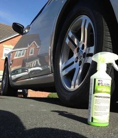 Professional Waterless Car Wash Product.. Keeping it Shiny and Green.