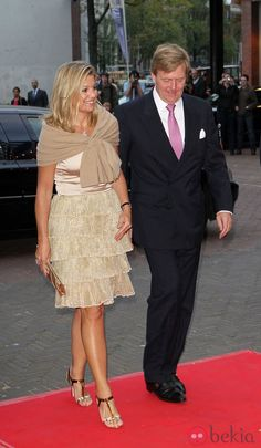 DUTCH ROYAL FAMİLY ATTENDED THE 50th ANNİVERSARY GALA OF THE NATİONAL BALLET İN AMSTERDAM