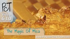 How Mica Shifts Work With Metallic Pearlescent  ~ Polymer Clay Tutorials