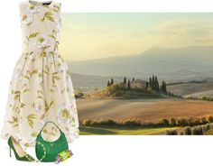 """Lovely time Toscana"" by anna-ruchkina ❤ liked on Polyvore"