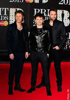 MUSE Brit Awards - 20/02/13, London