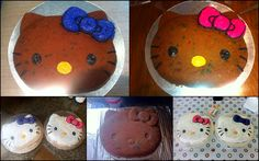 Hello Kitty Cakes for the girls birthday!