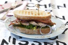 Den beste kylling- og baconsandwichen!