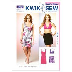 Mccall Pattern K3876 Xs-S-M-L-X-Kwik Sew Pattern