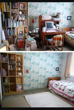 KonMari: Before and after (photo from NY Times)