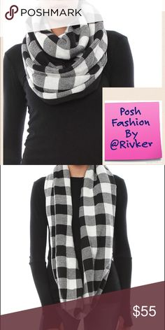 Selling this ☃️❄️PLUSH PLAID INFINITY SCARF❄️☃️ on Poshmark! My username is: rivker. #shopmycloset #poshmark #fashion #shopping #style #forsale #Plush #Accessories
