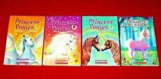 4 Princess Ponies Chapter Books Enchanted Pony Academy Grades 1-4 Teachers
