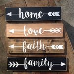 60 Easy DIY Wood Projects for Beginners - doityourzelf, Wood Projects For Beginners, Diy Wood Projects, Beginner Woodworking Projects, Woodworking Skills, Rustic Signs, Wooden Signs, Inspirational Signs, Handmade Home, Diy Crafts To Sell