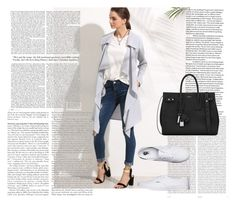 """""""Untitled #11"""" by nejla-i ❤ liked on Polyvore featuring Oris, Yves Saint Laurent and Vans"""