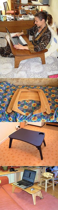 19 ideas diy table bois for 2019 Folding Furniture, Pallet Furniture, Furniture Plans, Woodworking Projects That Sell, Woodworking Plans, Workbench With Drawers, Articles En Bois, Diy Gifts For Dad, Diy Bathroom Vanity