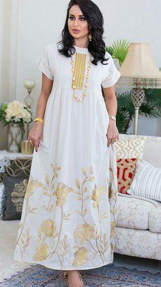 Plus Size Floral Round Neckline Short Sleeve Maxi X-line Dress woman fashion Dress clothes fall fashion trends Abaya Fashion, Muslim Fashion, Modest Fashion, Indian Fashion, Fashion Outfits, African Fashion Dresses, African Dress, Abaya Mode, Dress Outfits