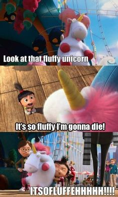 DESPICABLE ME.. It's so fluffy!!!