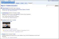 Friend Feed - social media aggregator