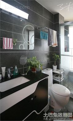 Encyclopedia of 2 square meters modern bathroom pictures