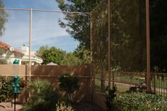 Golf Netting Examples - Golf Nets Unlimited - Protective Netting for Golf Course Homes - Phoenix/Scottsdale, Arizona