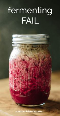 Fermenting Fail - Oh Lardy! :: Want some simple tips to help you learn how to #ferment foods at home? Join our email series that will teach you everything you need to know: https://il313.infusionsoft.com/app/form/8c0057a0e3f4312eca3433b52efd0d2b