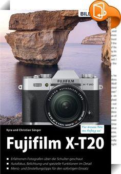 Fujifilm X-T20    :  Erleben Sie die vielseitigen Möglichkeiten Ihrer Fujifilm X-T20 und lernen Sie ihre Funktionen ausführlich kennen. Anhand ansprechender Beispiele und leicht verständlicher Anleitungen zeigt Ihnen das Buch, wie Sie einfach besser fotografieren - von Anfang an! Dieses Buch zeigt Ihnen wie es geht!  Aus dem Inhalt:  - Die Fuji X‒T20 kennenlernen - Bilder aufnehmen und betrachten - Professionelle Programme für jede Situation - Die Belichtung im Griff - Die Autofokus-Fä...
