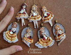 Good morning world   New #pancakes ladyes are ready ! I hope you like it  They will be available  in #miniaturitalia show  #miniature #angeniacreations #fattoamano #kawaii #cute #fimo #art #artist #polymerclay
